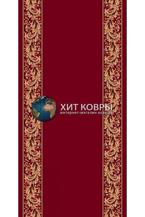 ковер в комнату кремлевский d044 красный 2